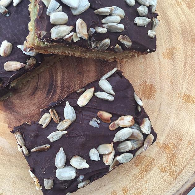 gluten free dairy free sunflower seed butter bars recipe