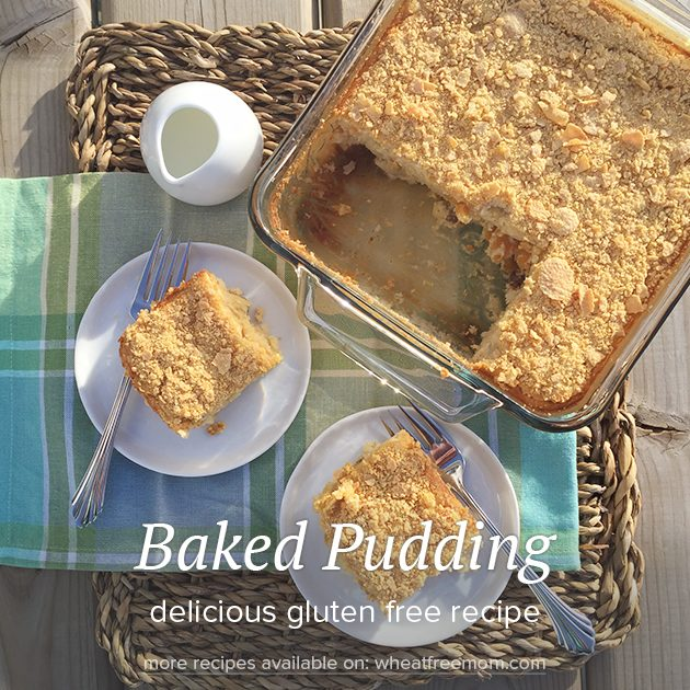 gluten free baked pudding recipe