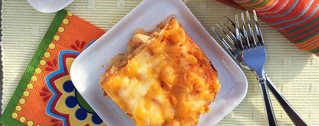 gluten free cheesy tomato bake recipe