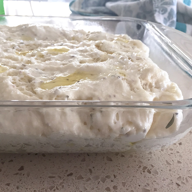 gluten free dairy free focaccia recipe