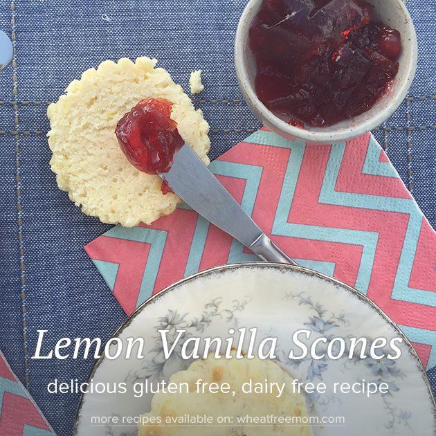lemon-vanilla-scones