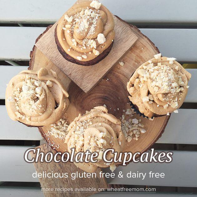 gluten free dairy free chocolate cupcakes recipe