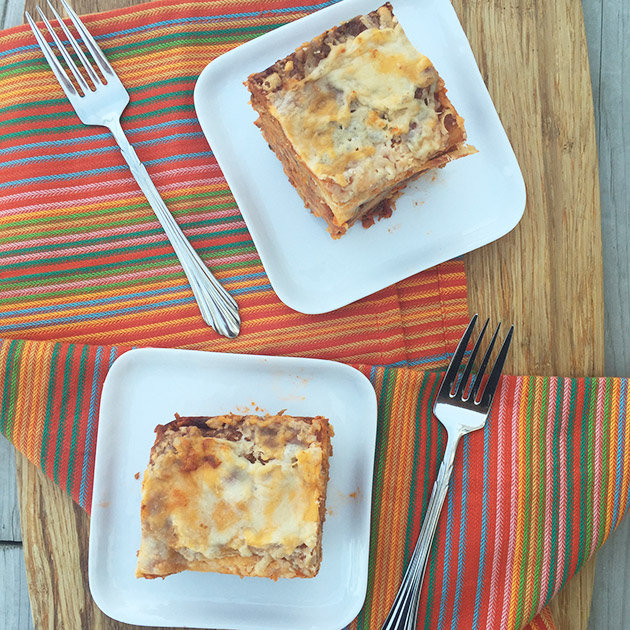 Gluten Free Sausage, Mushroom and Carrot Lasagna Recipe