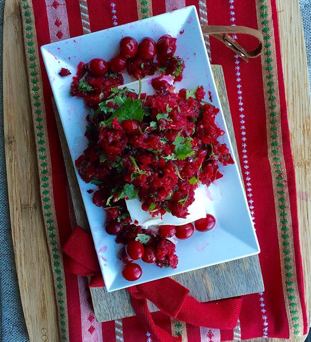 gluten free cranberry salsa