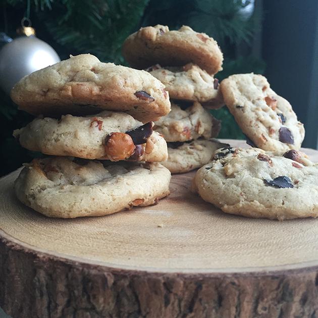 gluten free double coconut bacon cookies recipe