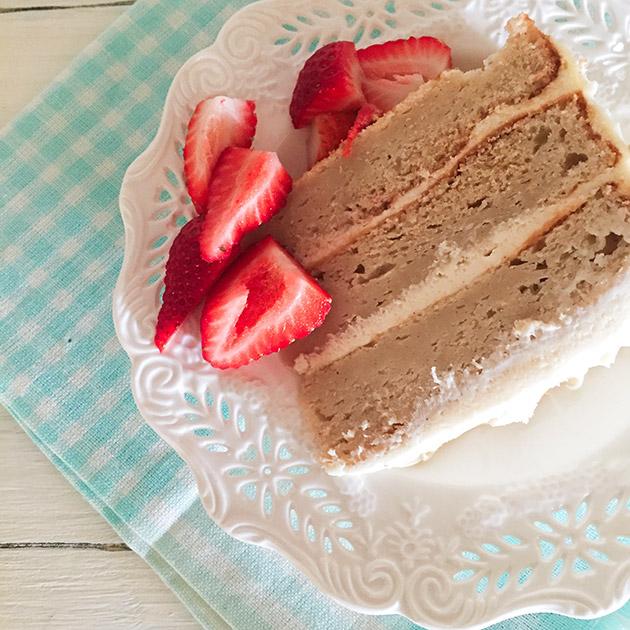gluten free vanilla layer cake recipe