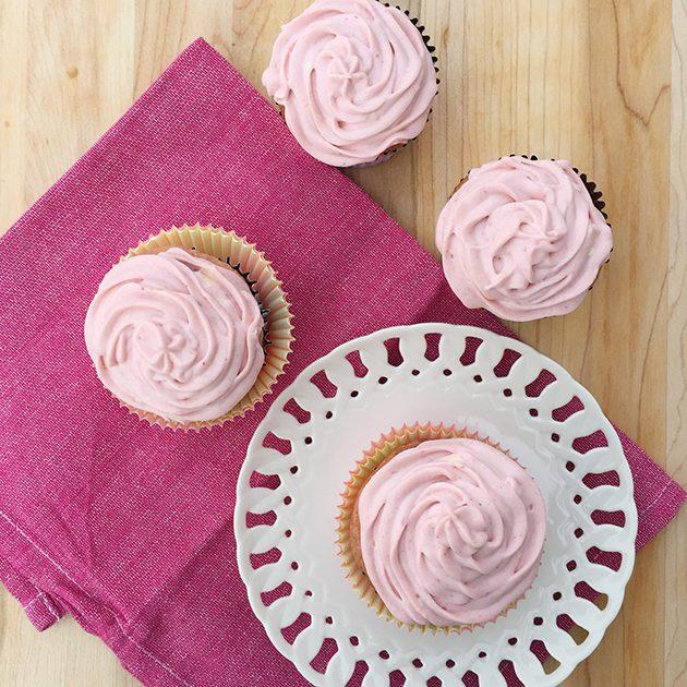 gluten free strawberry cupcakes Recipe