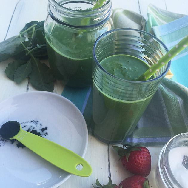 veggie berry smoothie recipe
