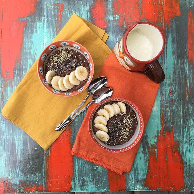 chocolate oatmeal recipe