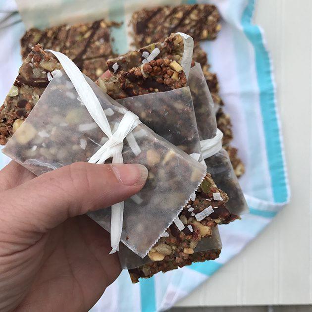 quinoa granola bars recipe