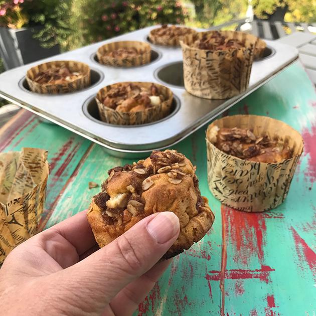 pumpkin cream cheese muffin recipe