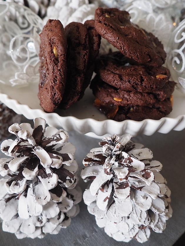 chocolate almond cookie recipe