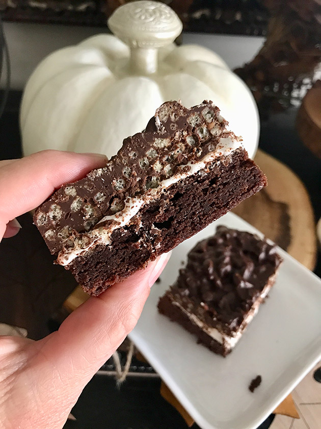 double chocolate marshmallow brownies recipe
