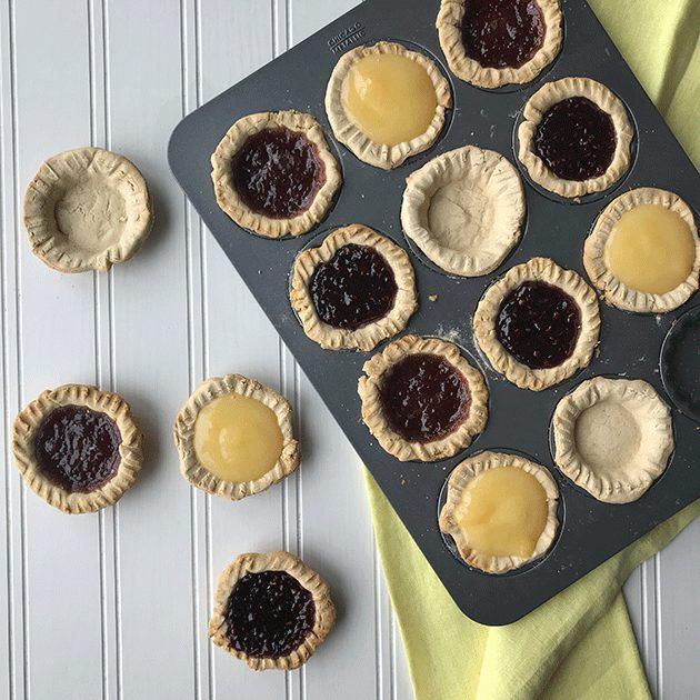 gluten free jam tarts recipe