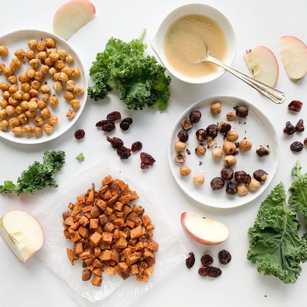 Fall Kale Salad Recipe