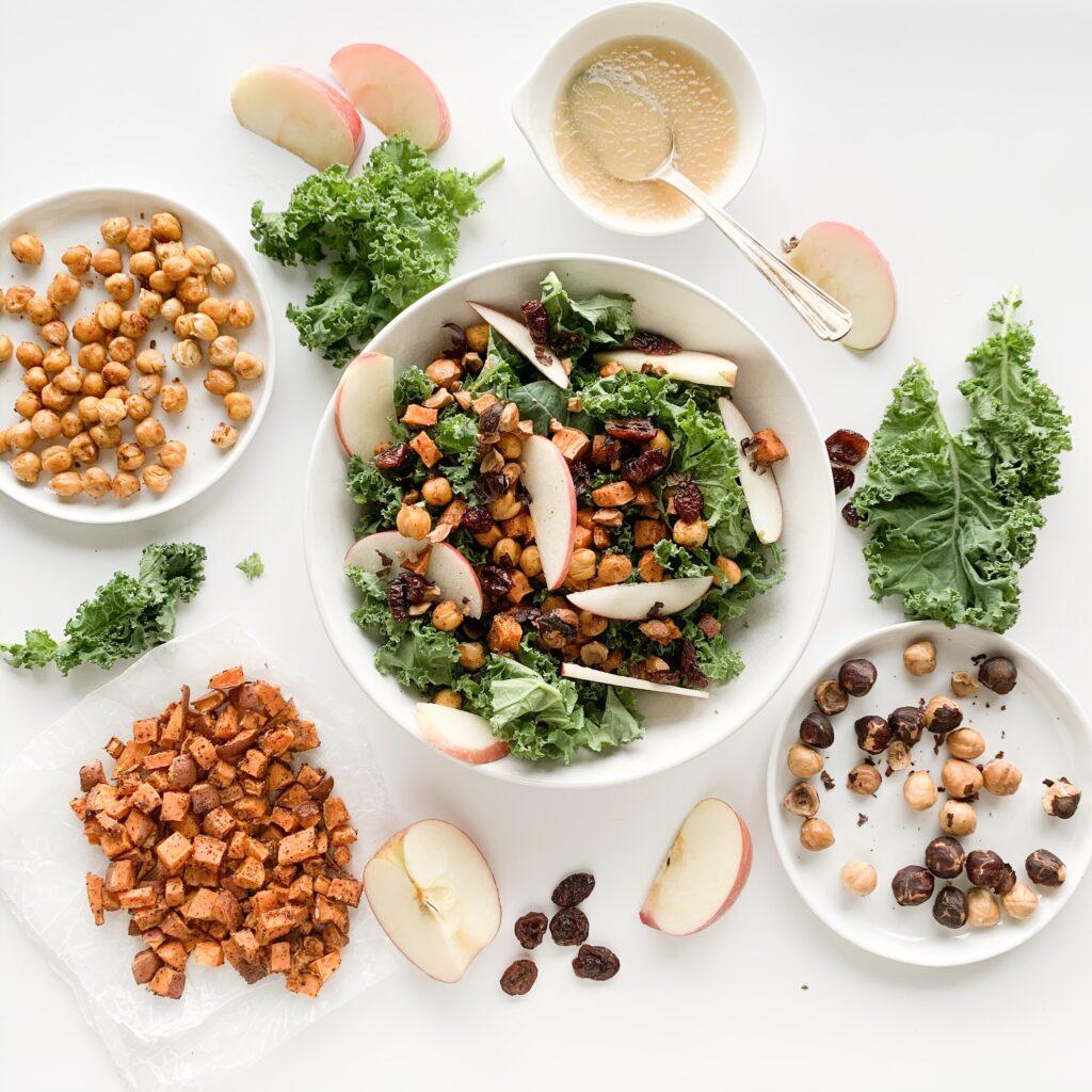 Kale Fall Salad