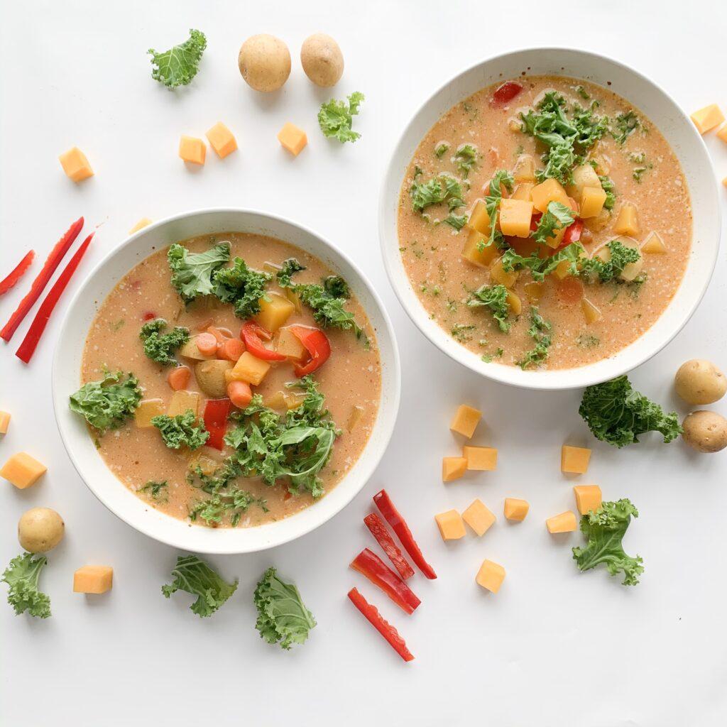 Butternut Squash Red Curry Soup Recipe