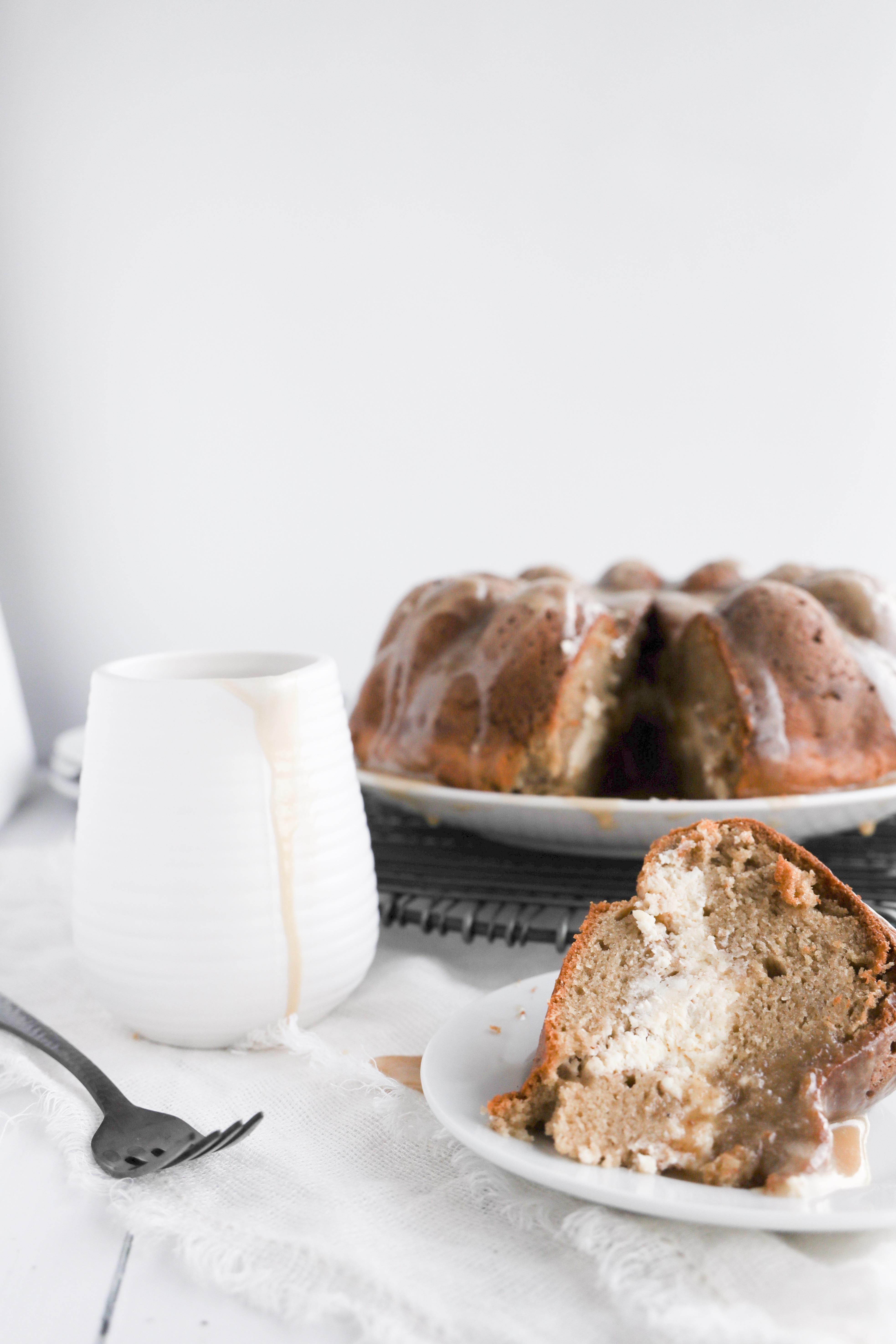 Cream Cheese Swirl Bundt Cake