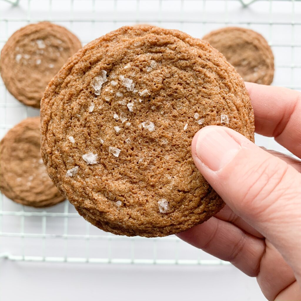 Gluten-free molasses cookie