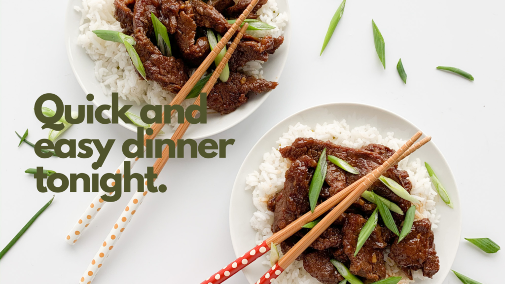 This gluten-free instant pot mongolian beef recipe is super easy to make and tastes as good as fast food.