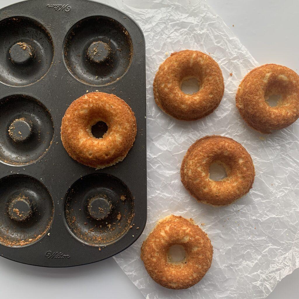 Keto Lemon Donuts