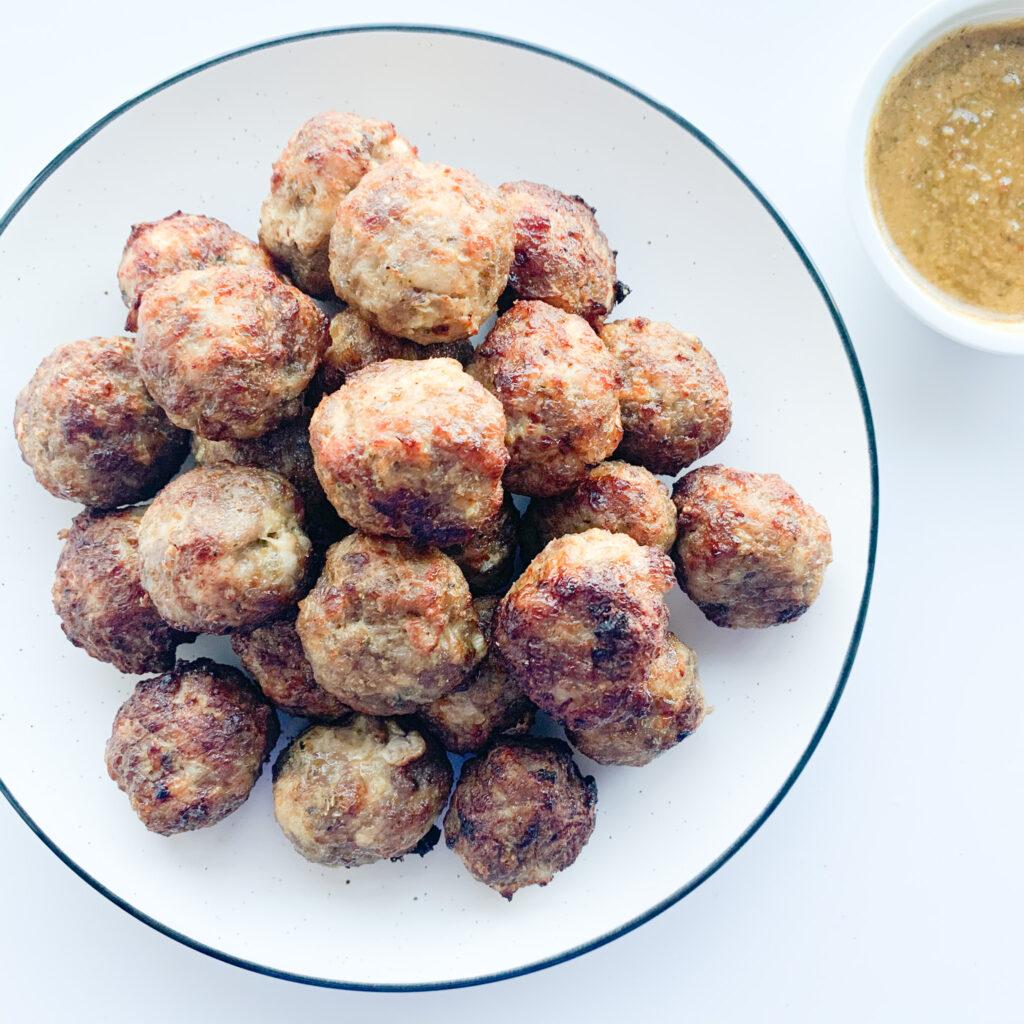 Air Fry Meatballs