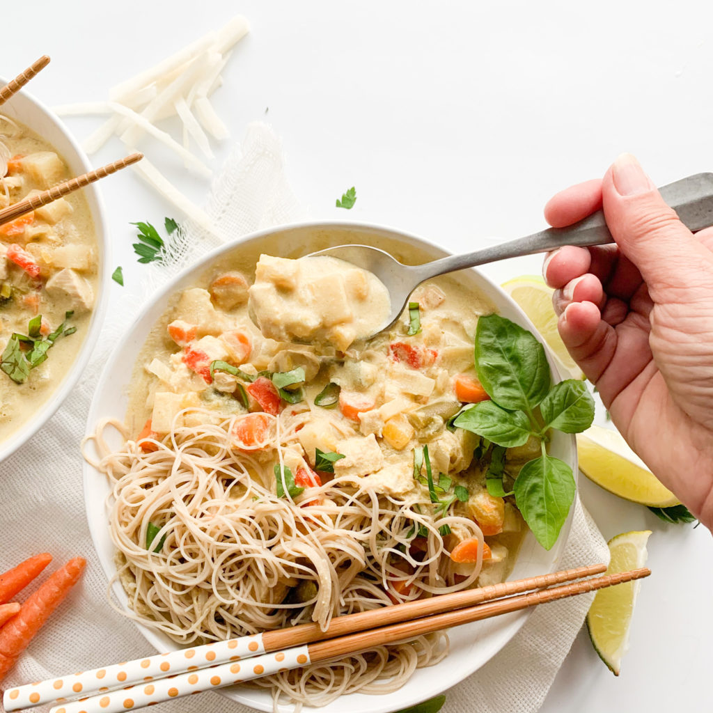 Slow Cooker Thai Green Curry