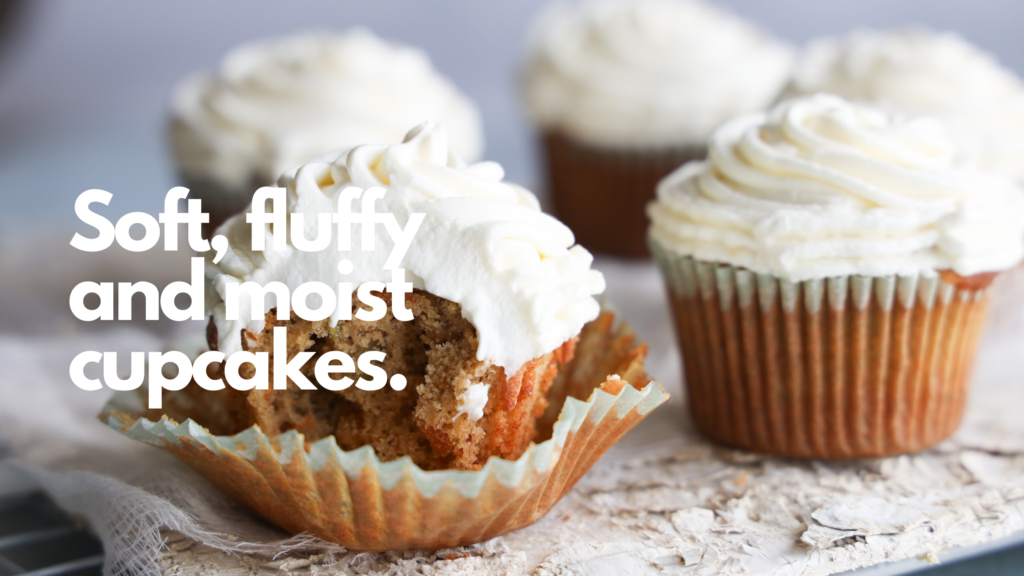 These gluten-free carrot cake cupcakes are tender, moist and lightly spiced and are the perfect twist to a traditional carrot cake. The recipe is as easy as it is delicious.