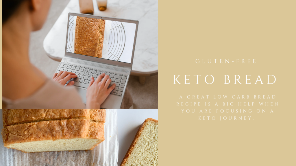 A great low-carb, gluten-free and keto bread is a big help when you are focusing on eating keto. This low-carb bread is simply so good and is also easy to make.
