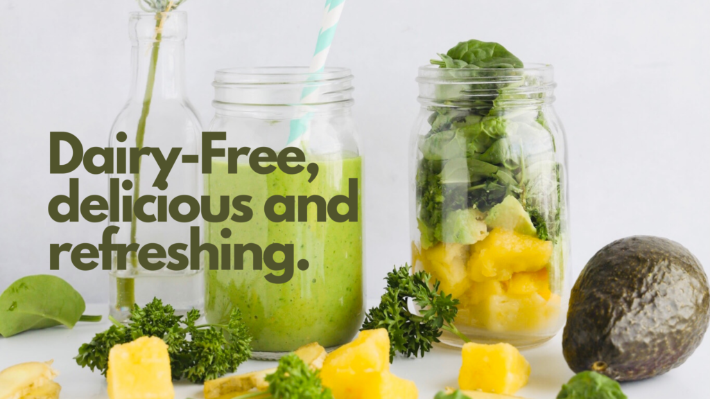 This gluten-free green smoothie is full of healthy ingredients. It is a delicious way to get healthier and better habits going. It is dairy-free and great for breakfast.