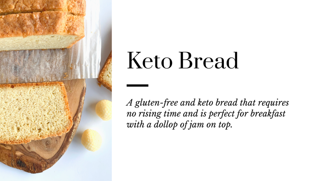 A great low-carb, gluten free and keto bread  recipe that is a big help when you are focusing on a keto journey. This keto bread is simply so good and is easy to make.