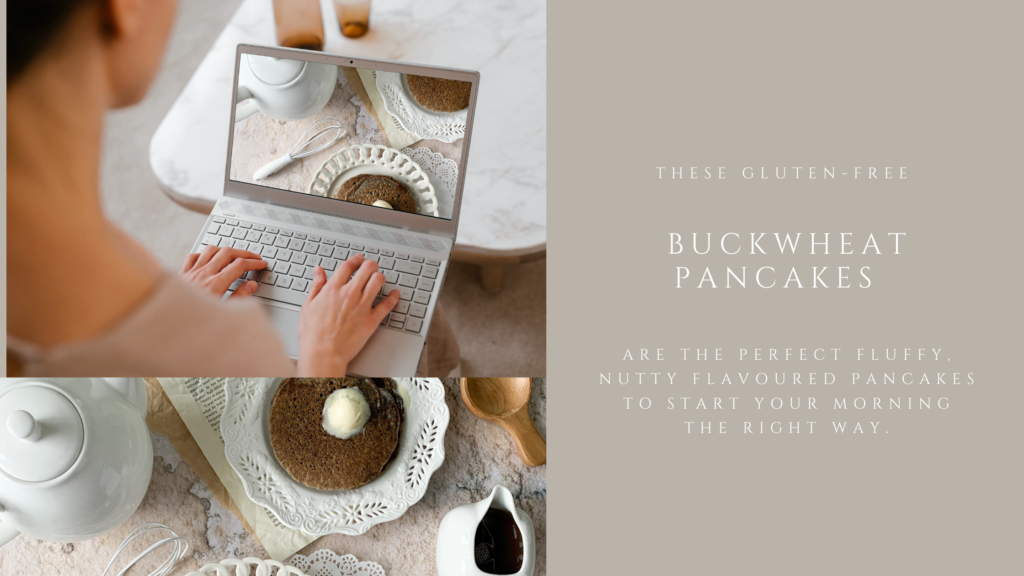 These gluten-free buckwheat pancakes are delicious for breakfast and are easy to make. They are tender, moist and full of nutty flavour.