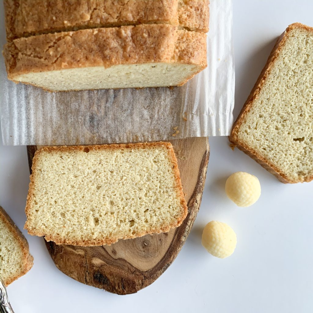Gluten-free keto bread that is easy to make and is made with both almond and coconut flour.