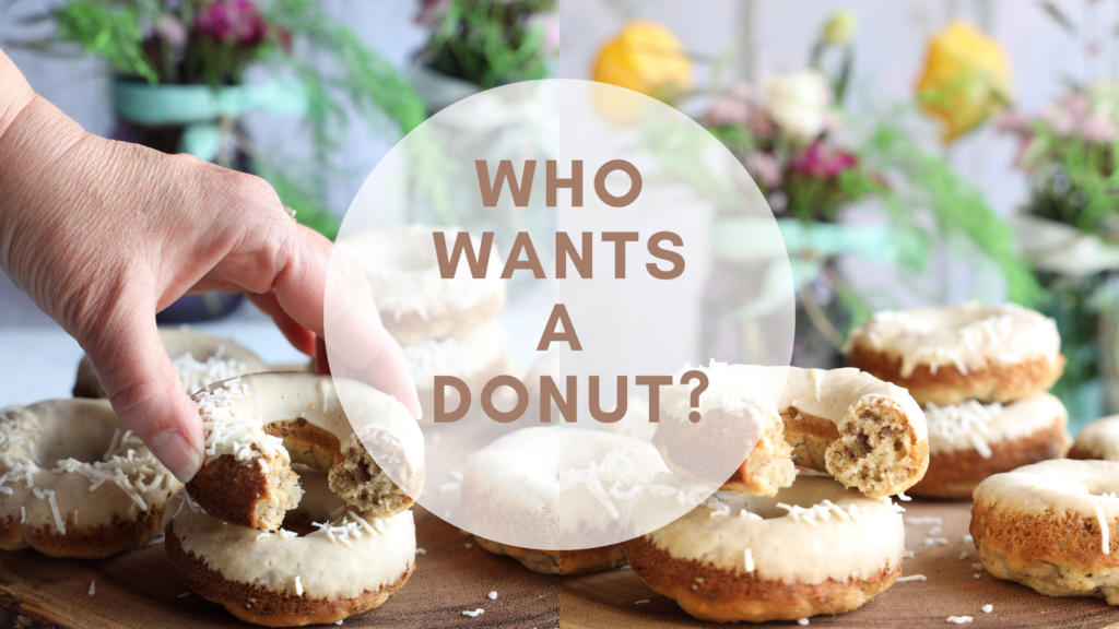 A gluten-free donut inspired by the southern recipe for Hummingbird Cake.