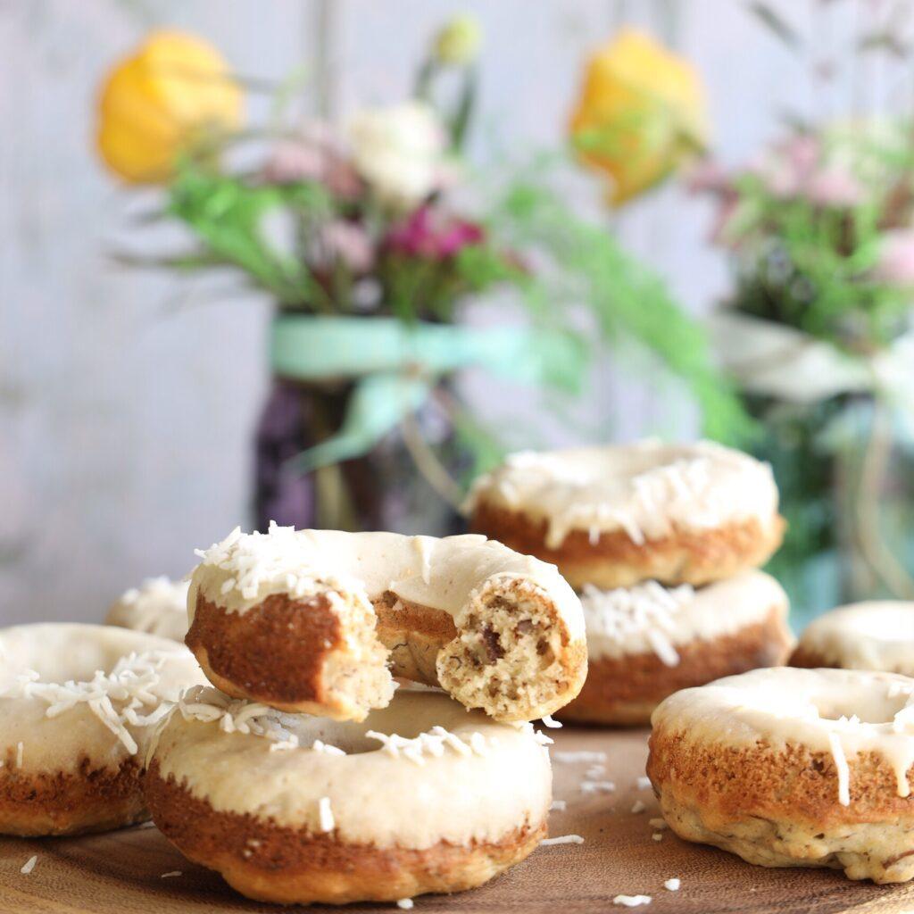 Gluten-Free Hummingbird Donuts