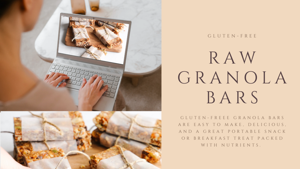 These vegan no-bake gluten-free raw granola bars are loaded with healthy ingredients like dates, pumpkin and flax seeds and almonds and walnuts.