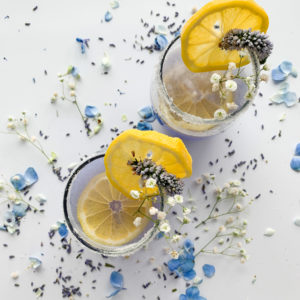 Sparkly, frosty and a little bit floral this lavender and limoncello gin cocktail is a refreshing drink that is delicious! Named The Duke Royale in honour of Prince Philip this cocktail is sophisticated and classic.