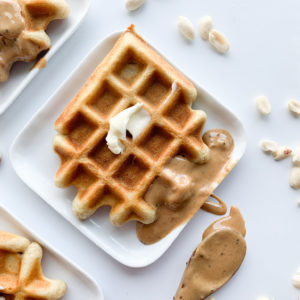 Mix up this gluten and dairy-free easy waffle recipe for your next weekend breakfast.