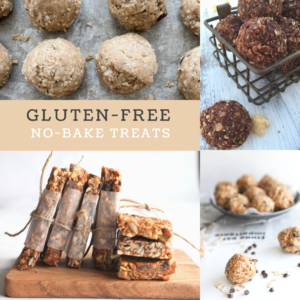 5 gluten-free no bake treats are a must to make in the summertime.